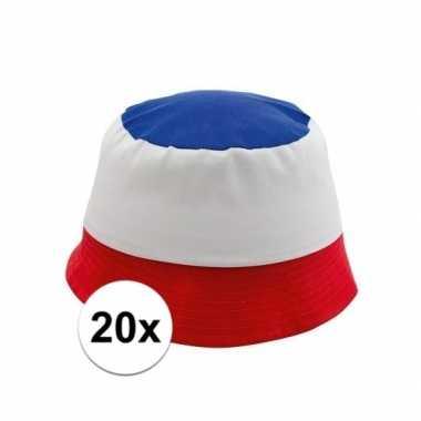 20x voetbal petjes frankrijk
