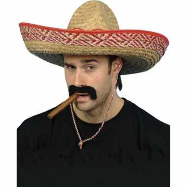 2x mexicaanse sombrero fiesta
