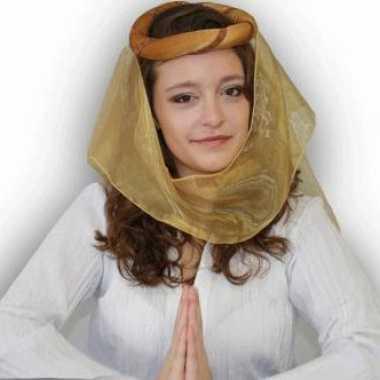 Arabische sluier goud
