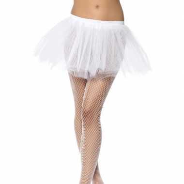 Ballet tutu rokje wit dames