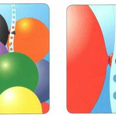 Ballonnen lint slinger