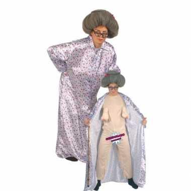 Bejaarde vrouw kostuum