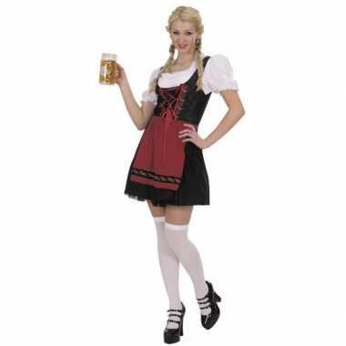 Bierfeest dames jurk zwart