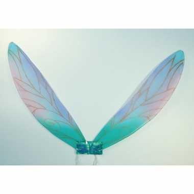 Blauwe libelle vleugels voor kinderen