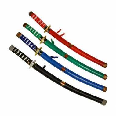 Blauwe ninja zwaarden