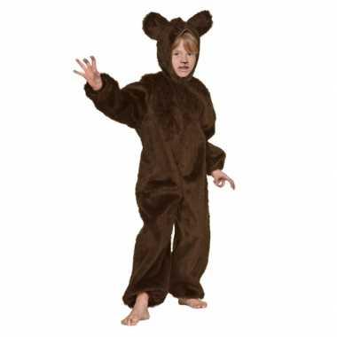 Bruin beren outfit voor kinderen