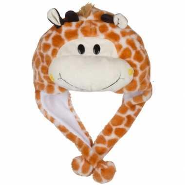 Carnaval giraffe muts kids