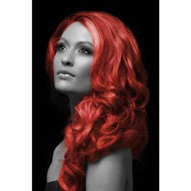 Carnaval haarverf rood