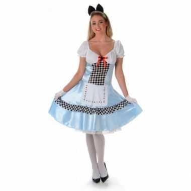 Carnavalskostuum alice voor dames