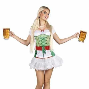 Carnavalskostuum tiroler dames shirt