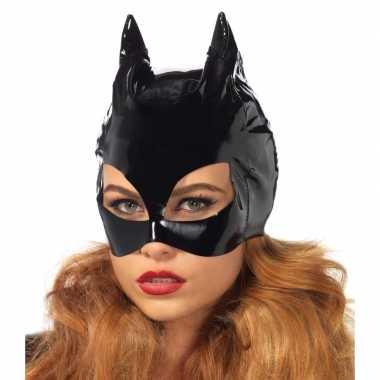 Catwoman accessoires zwart masker