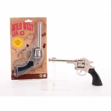 Cowboy/western speelgoed klappertjes pistool voor kinderen