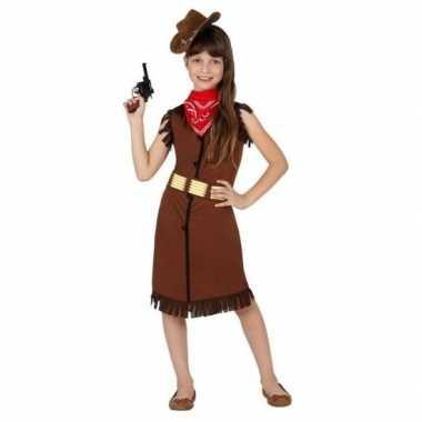 Cowgirl/cowboy kostuum/jurk voor meisjes