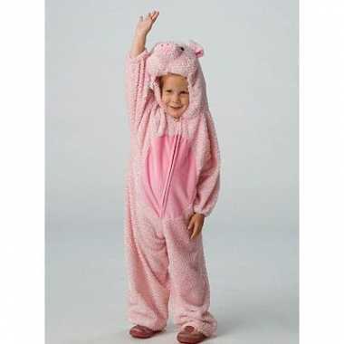 Dieren kostuum varken voor kids