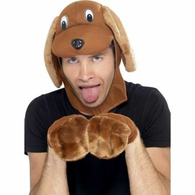 Dieren verkleedset hond