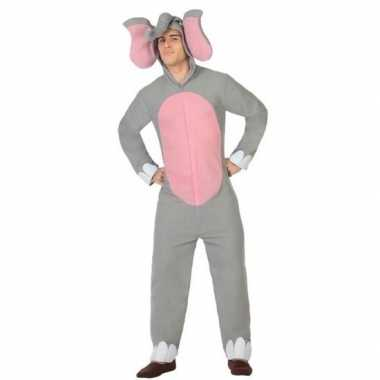 Dierenpak olifant verkleed kostuum voor volwassenen