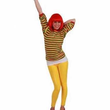 Dorus trui rood geel groen voor dames