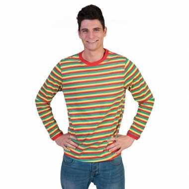 Dorus trui rood geel groen voor heren 10069267