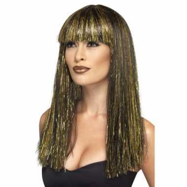 Egyptische godin dames pruik