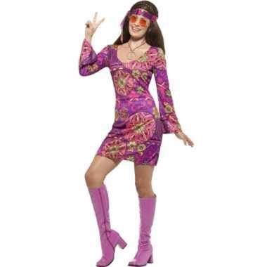 Feest hippie verkleedoutfit voor dames