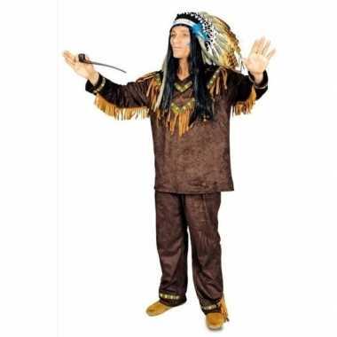 Feest indianen verkleedoutfit voor heren
