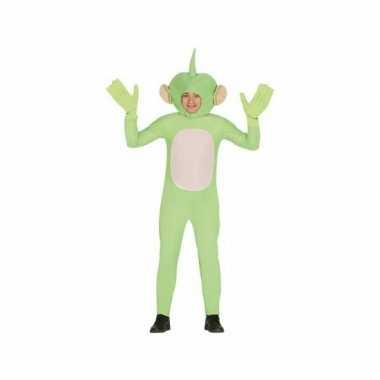 Feest kleding alienpak voor volwassenen