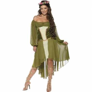 Feest middeleeuwse verkleedoutfit voor dames