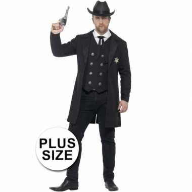 Feest sheriff verkleedoutfit voor heren