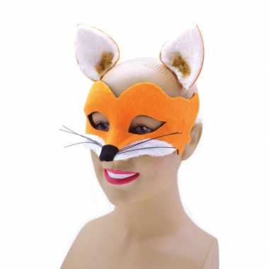 Feest vilten vossen masker