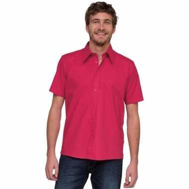 Fuchsia lemon&soda shirts voor heren roze/ fuchsia