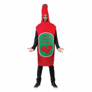 Funny verkleedkleding pak ketchup