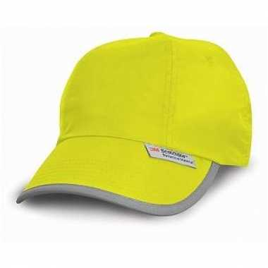 Gele reflectie cap