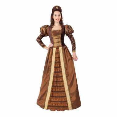 Geschiedenis middeleeuwse prinses dameskostuum