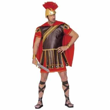 Gladiator outfit rood bruin heren