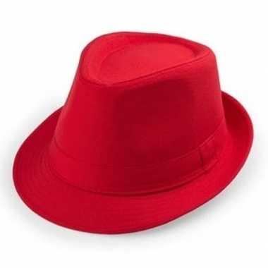Goedkope rode verkleed hoedjes voor volwassenen