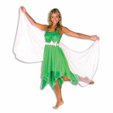 Groene elfen outfit dames