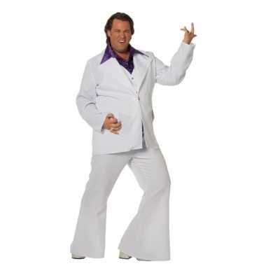 Grote maat disco kostuum voor mannen