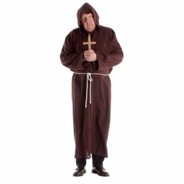Grote maat klooster outfit voor volwassenen