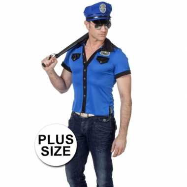 Grote maten politie outfit