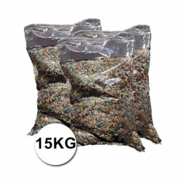 Grote verpakking confetti snippers ca. 15 kilo
