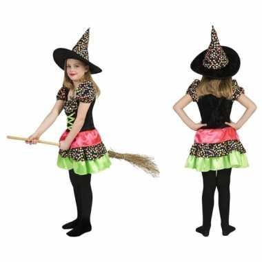 Heksen outfit jurk incl. hoed