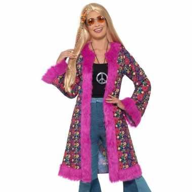 Hippie peace jas voor dames