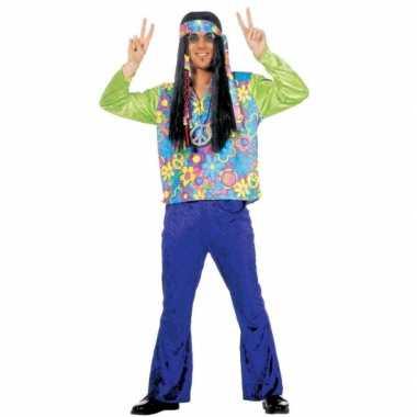 Hippie verkleedkleding voor heren