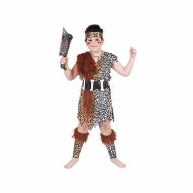 Holbewoner verkleed pak voor kinderen