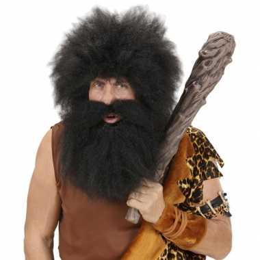 Holbewoners grote baard en snor