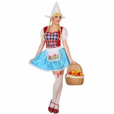 Hollands meisje kostuum 3 delig voor dames