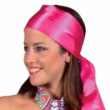 Hoofdsjaals voor dames in het roze