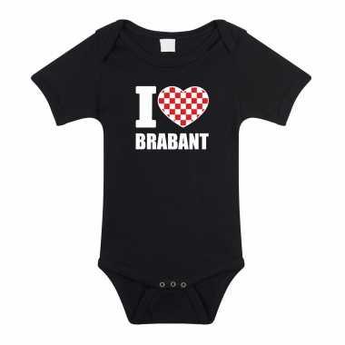 I love brabant baby rompertje zwart jongen/meisje