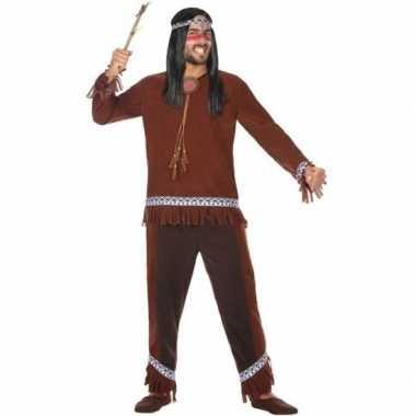 Indianen choctaw verkleed pak/kostuum voor heren