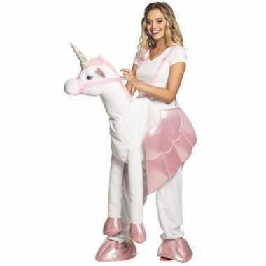 Instap kostuum eenhoorn voor volwassenen